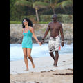 Kimora Lee And Djimon Hounsou Flaunt Their Sexy Beach Bods In St. Barths