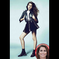 Cindy Crawford's Daughter Scores Modeling Gig With Versace