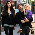 Pete Wentz And girlfriend Meagan Camper Take Turns Carrying Bronx!