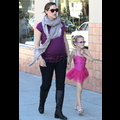 Jennifer Garner Bumps Along With Daughter Violet