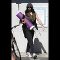 Newly Single Russell Brand Sweats It Out At Yoga