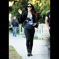 Kat Von D Smiles As She Strolls Through Hollywood