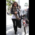 Kim Kardashian Lightens Her Locks And Steps Out To Lunch
