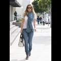 Bar Refaeli Struts Her Stuff During A Shopping Spree