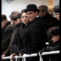 Marion Cotillard And Joaquin Phoenix Film Scenes On A Dingy In NYC