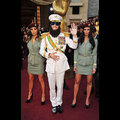 Sacha Baron Cohen Makes A Controversial Entrance On The Oscars Red Carpet