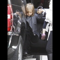 Angelina Jolie Takes The Twins Shopping With Brad Pitt's Mom!