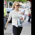 "<em><span class=""exclusive"">EXCLUSIVE PHOTOS</span></em> - January Jones And Her Beautiful Baby Xander Enjoy The Sunshine In Los Angeles"