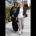 Kelly Osbourne Goes On A Shopping Spree With Mom Sharon