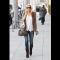 Paris Hilton Is Furrocious In Beverly Hills