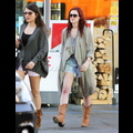 """<em><span class=""""exclusive"""">EXCLUSIVE PHOTOS</span></em> - Rumer Willis Sports Bruised Knees In Hollywood"""