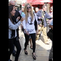 Avril Lavigne Gets R-Rated At The Grove
