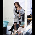"<em><span class=""exclusive"">EXCLUSIVE PHOTOS</span></em> - Alyssa Milano Takes Son Milo To The Set Of <em>Mistresses</em>"