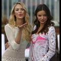 Miranda Kerr And Candice Swanepoel Get Wet And Wild For Victoria's Secret Swimwear Line