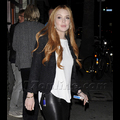 Report: Lindsay Lohan Celebrates The End Of Probation With A Party At Chateau Marmont