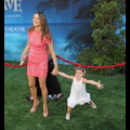 Alessandra Ambrosio And Christina Milian Take Their Little Princesses To <em>Brave</em> Premiere