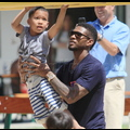 Usher Is The Hottest Hands-On Dad In Malibu
