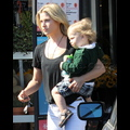 Ali Larter And Son Teddy Are Attached At The Hip!