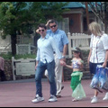 Tom Cruise And His Little Mermaid Suri Enjoy The Day At Disney World