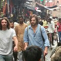 Ashton Kutcher Films <em>joBs</em> In The Streets Of New Delhi