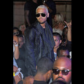 """Chris Brown Stops By P. Diddy's """"Sexiest Party In The City"""""""