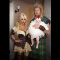 Jessica Simpson Squeezes Into A Sexy Little Halloween Costume