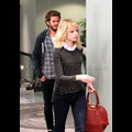 Andrew Garfield Gets Roses For Lady Love Emma Stone