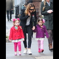 Sarah Jessica Parker And Her Little Girls Explore The Big Apple