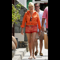 Ivana Trump Rocks Daisy Dukes And Midriff While Strutting Around St. Barth With Her Man