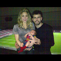 Shakira Dresses Up Her Good Luck Charm For His Daddy's Game