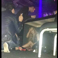 Lindsay Lohan Hides Under A Table At Brazilian Nightclub