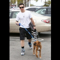 Casper Smart Takes J.Lo's Boxer For A Stroll