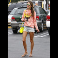 Alessandra Ambrosio Shows Some Leg