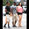 Reggie Bush And Baby Mama Lilit Avagyan Grab Some Grub