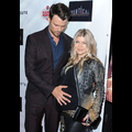 Josh Duhamel Caresses Fergie's Baby Bump On The Red Carpet