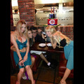Charlie Sheen Celebrates His Birthday With His 'Angels'