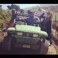 Fergie And Josh Duhamel Leave Baby Axl Home To Pick Grapes At Family Vineyard