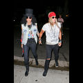 Cindy Crawford And Hubby Dress Up As Slash And Axl Rose