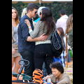 Robin Thicke And Wife Paula Patton Display A Little PDA At The Pumpkin Patch
