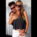 Charlie Sheen Can't Keep His Hands Off New Lady Love