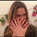 Drew Barrymore's Pink And Blue Nails Keep People Guessing About Baby's Gender