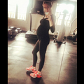 Kristin Cavallari Shows Off Her Baby Bump At The Gym