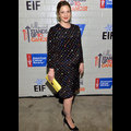 Drew Barrymore Shows Off Her Baby Bump In A Fun Polka-Dot Frock Hollywood Stands Up To Cancer
