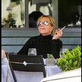 Melanie Griffith Lunches On Caviar
