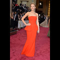 Jennifer Lawrence Is Dreamy In Dior On The Oscar Red Carpet