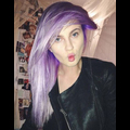 Ireland Baldwin Dyes Her Hair Purple