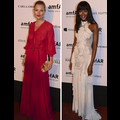 Kate Moss And Naomi Campbell Rule The Red Carpet At The AMFar Gala