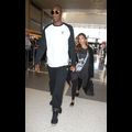 Kobe Bryant And Wife Vanessa Hang On Tight To One Another At The Airport