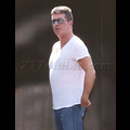 Simon Cowell Squeezes Into His Favorite Tight Tee