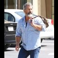 A Bearded And Beefy Mel Gibson Hits The Gym